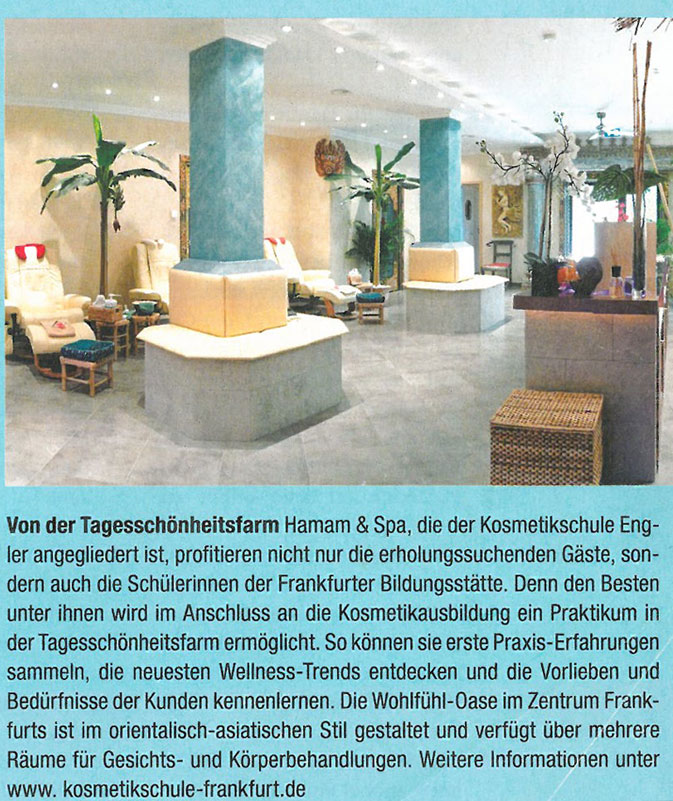 press review hamam day spa frankfurt. Black Bedroom Furniture Sets. Home Design Ideas